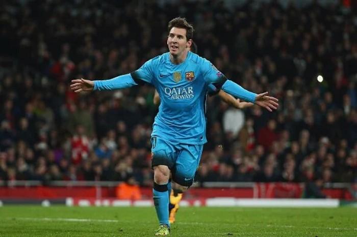 """Champions League, Messi ipoteca gli ottavi per il Barcellona: 0-2 all'""""Emirates"""""""