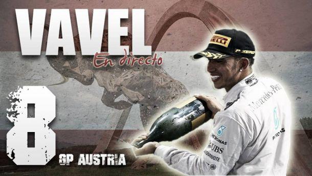 Resultado Carrera del GP de Austria 2015 de Fórmula 1
