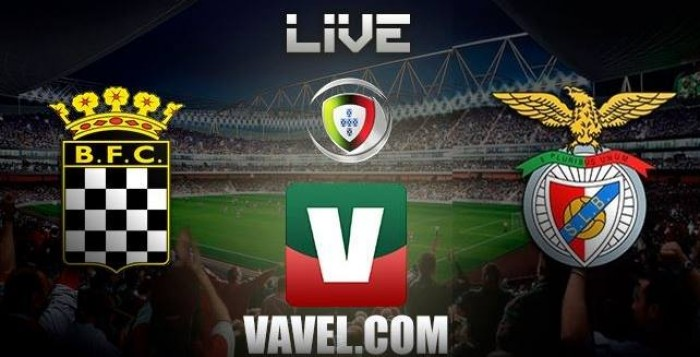 Resultado Boavista x Benfica (0-1)