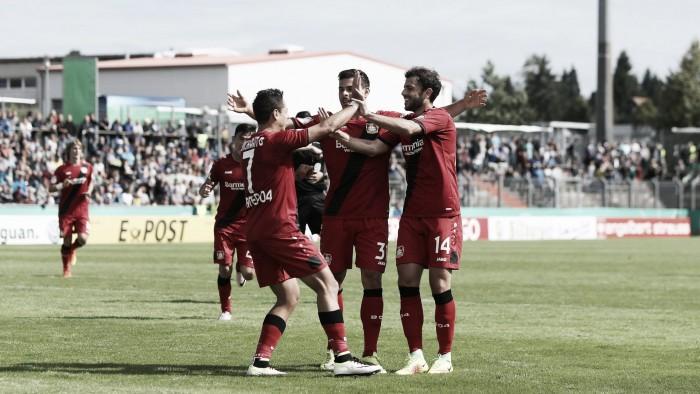 Leverkusen derrota Hauenstein e avança para próxima fase da DFB Pokal
