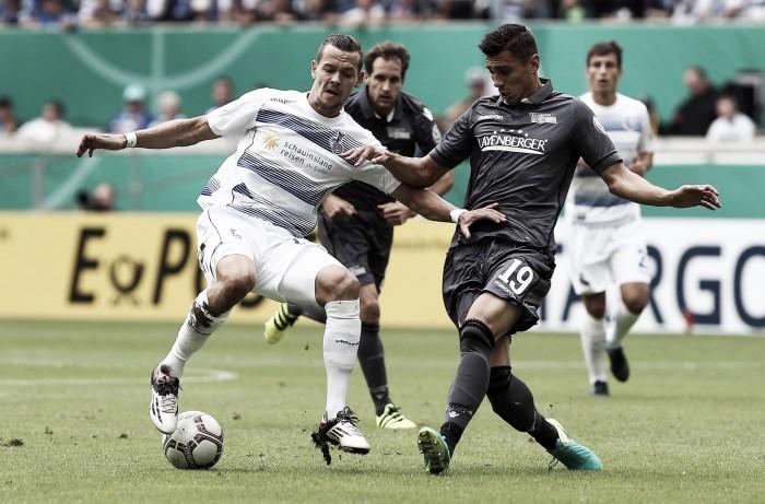 Na prorrogação, Union Berlin derrota Duisburg e avança à próxima fase da DFB Pokal