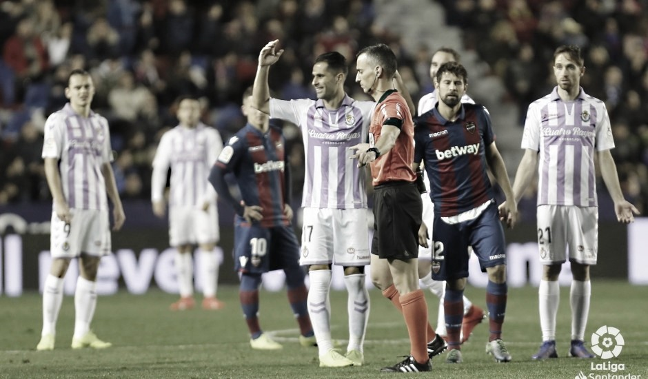 Jaime Latre, el elegido para dirigir el debut liguero del Real Valladolid