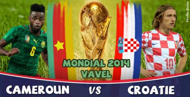 Live Cameroun - Croatie, la Coupe du Monde 2014 en direct