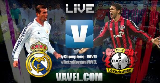 Resultado Remember Final Champions 2002: Real Madrid - Bayer Leverkusen (2-1)