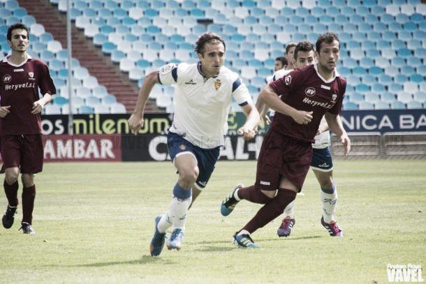 Esnáider rescinde con el Zaragoza y se marcha al Huesca
