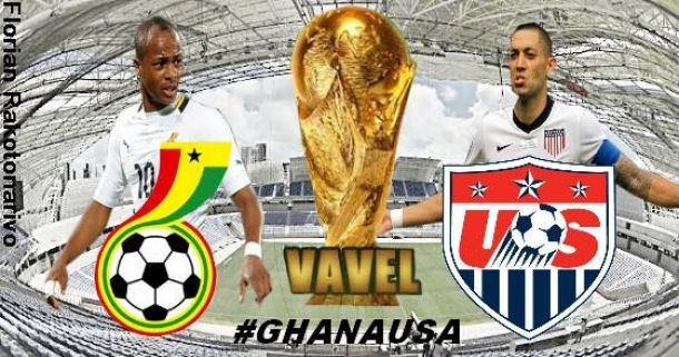 Live Coupe du Monde 2014 : Ghana - Etats-Unis en direct