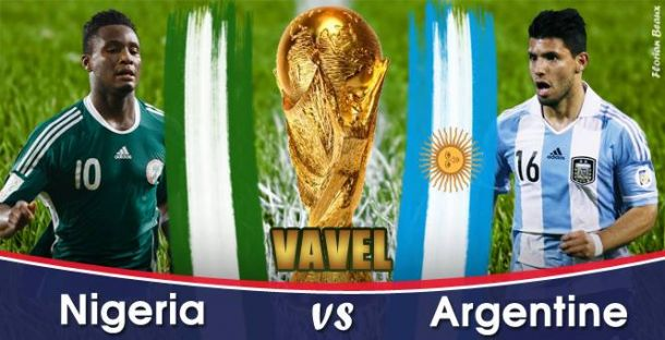 Live Coupe du monde 2014 : le match Nigeria - Argentine en direct