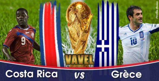 Live Costa Rica - Grèce, direct de la Coupe du Monde 2014