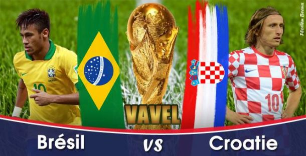 Live Coupe du Monde 2014 : Brésil - Croatie en direct
