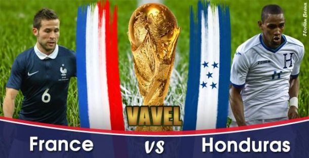Live Coupe du Monde 2014 : France - Honduras en direct