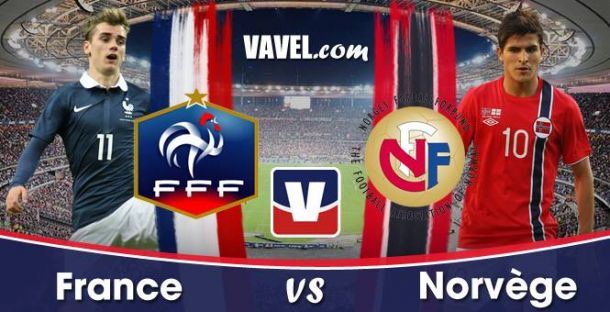 Live France - Norvège en direct