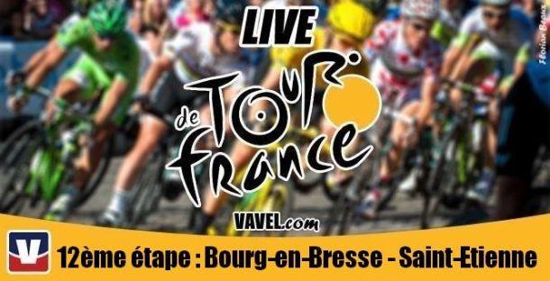 Live Tour de France 2014 : La 12ème étape (Bourg-en-Bresse - Saint-Étienne) en direct