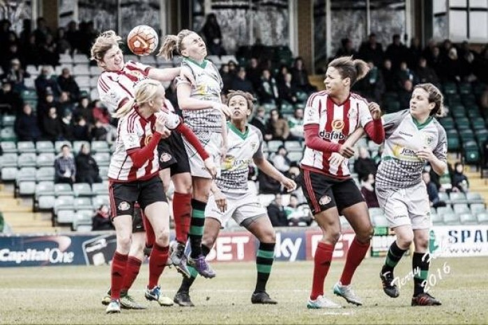 Yeovil Town Ladies 0-2 Sunderland Ladies: Chaplen double sends Lady Black Cats through