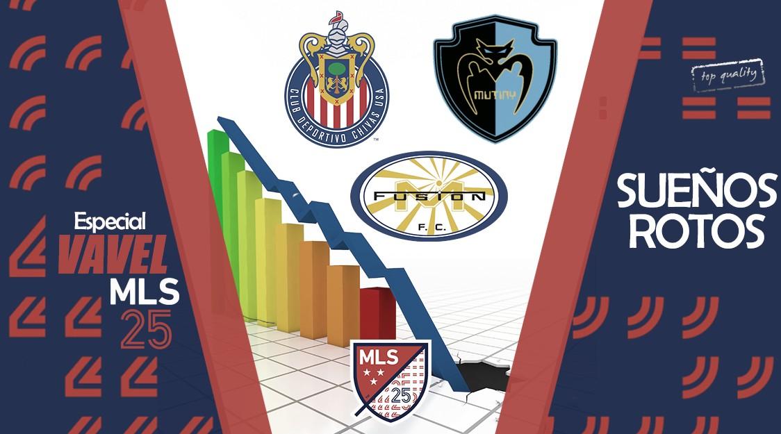 Especial VAVEL MLS 25 Edición. Sueños rotos