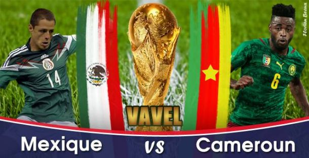 Live Coupe du Monde 2014 : Mexique - Cameroun en direct