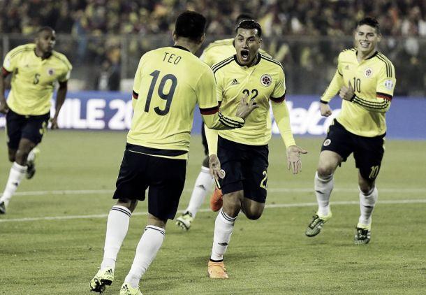Brasil–Colombia: puntuaciones deColombia, segunda fecha de la Copa América 2015