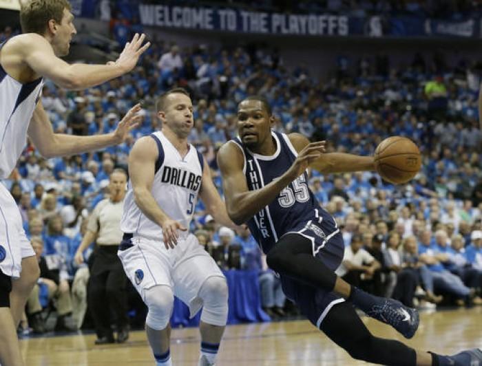 NBA: OKC asfalta Dallas, Durant di nuovo decisivo