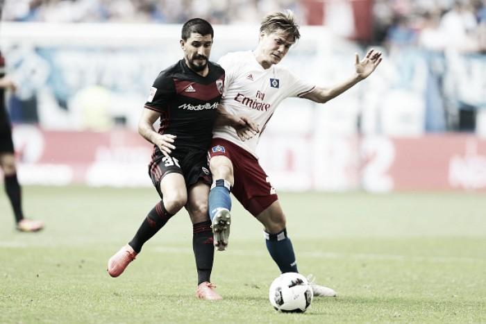 Em duelo truncado, Hamburgo e Ingolstadt ficam no empate pela Bundesliga