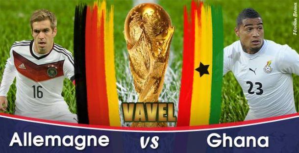 Live Allemagne - Ghana, la Coupe du Monde 2014 en direct