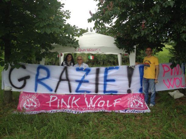 Cuore Piacenza, i Pink Wolf ringraziano Cerciello