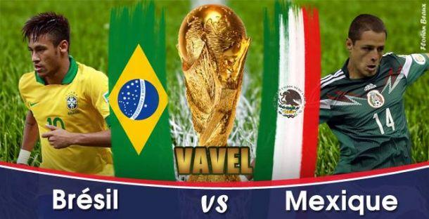 Live Brésil - Mexique, la Coupe du Monde 2014 en direct