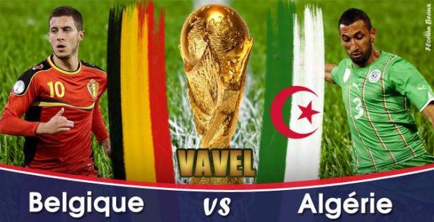 Live Belgique - Algérie, la Coupe du Monde 2014 en direct