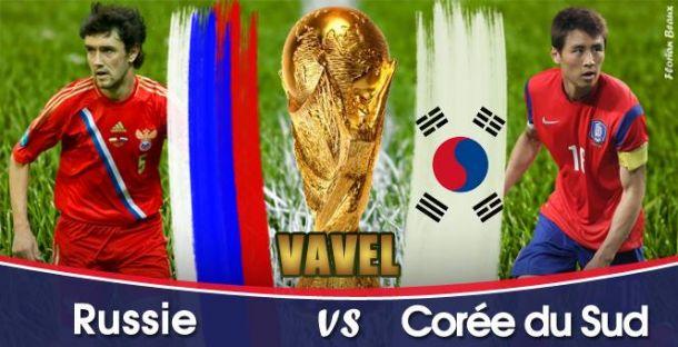Live Coupe du Monde 2014 : Russie - Corée du Sud en direct