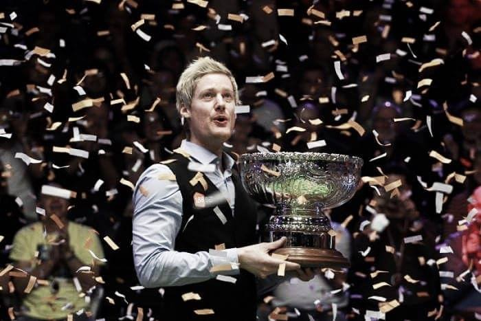 The curious case of Neil Robertson