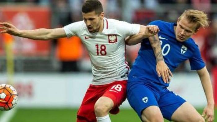 La Polonia demolisce la Finlandia: 5-0