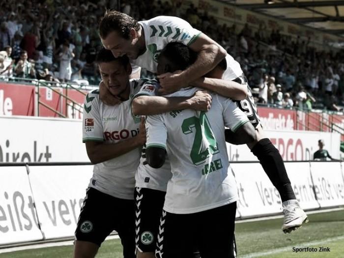 Em jogo eletrizante, Greuther Fürth derrota Erzgebirge Aue com gol no fim