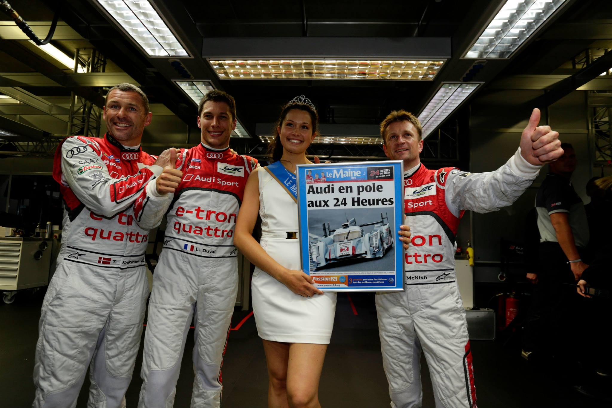 24h du Mans : Audi domine les qualifications