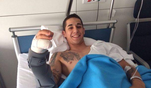 Montmelo Moto2: Luis Salom operato con successo al mignolo della mano destra