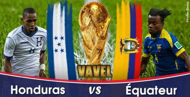 Live Honduras - Équateur, la Coupe du Monde 2014 en direct