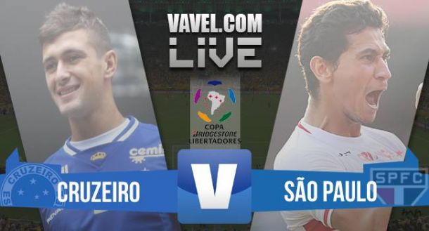 Resultado Cruzeiro x São Paulo na Copa Libertadores 2015 (1-0)