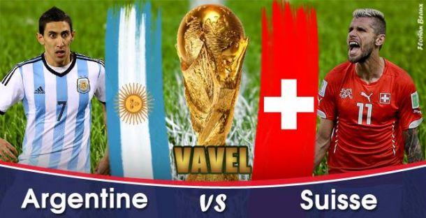 Live Coupe du monde 2014 : le match Argentine - Suisse en direct