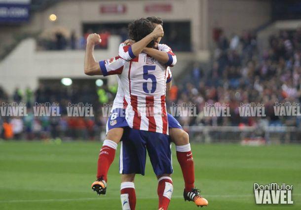 Tiago marca y asiste por segunda vez ante el Málaga