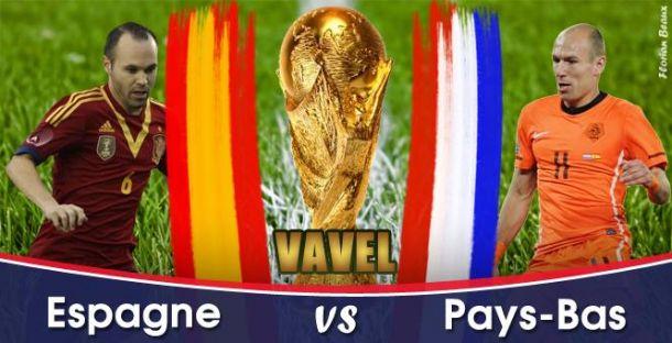 Live Coupe du Monde 2014 : Espagne - Pays-Bas en direct