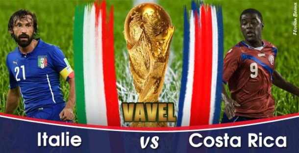 Live Italie - Costa Rica en direct