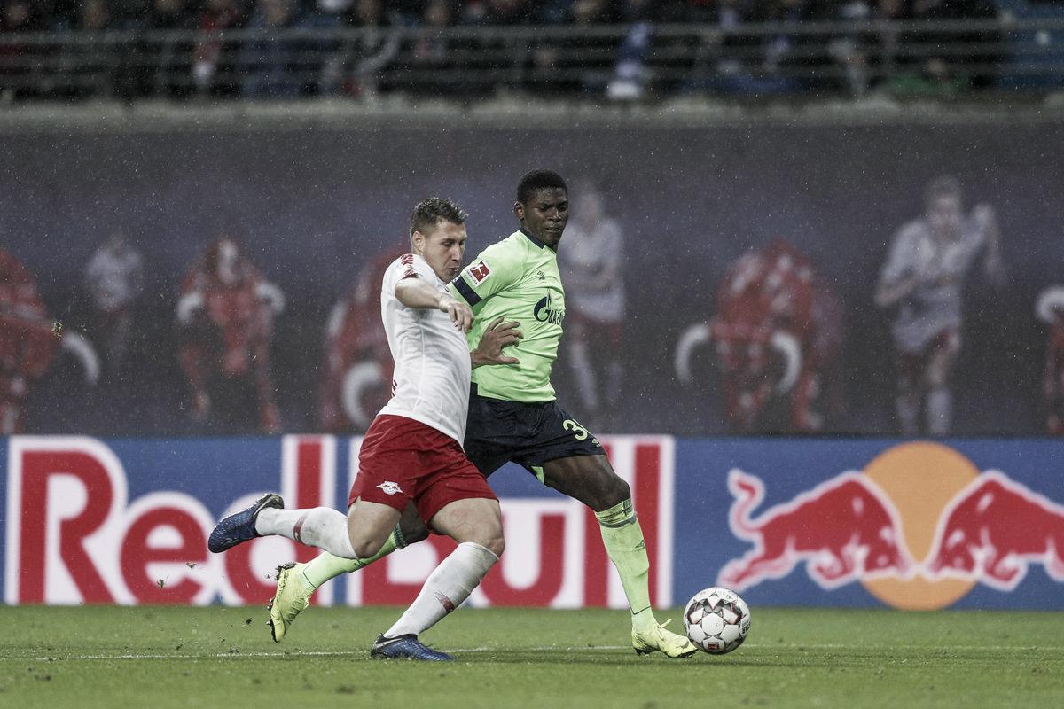 Em jogo truncado e de poucas emoções, Schalke 04 e RB Leipzig empatam sem gols