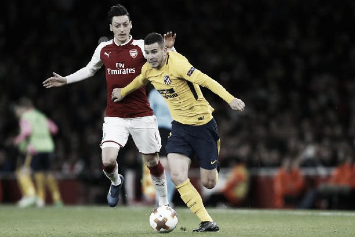 Após empate na ida, Atlético e Arsenal se enfrentam por uma vaga na final da Europa League