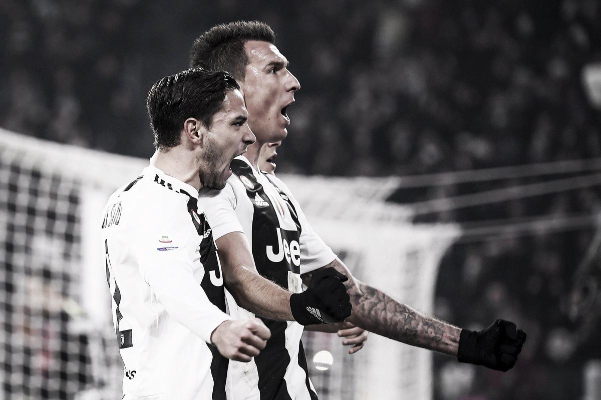 Mandzukic marca e Juventus bate Internazionale pelo placar mínimo em Turim