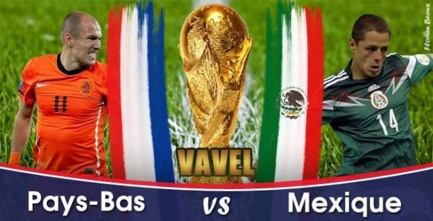 Live Coupe du Monde 2014 : Pays-Bas - Mexique en direct
