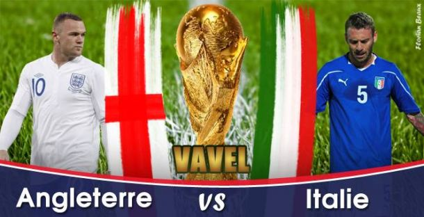 Live Coupe du Monde 2014 : Italie - Angleterre en direct