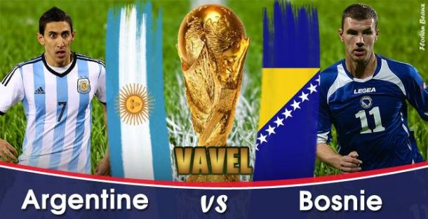 Live Coupe du monde 2014 : le match Argentine - Bosnie en direct