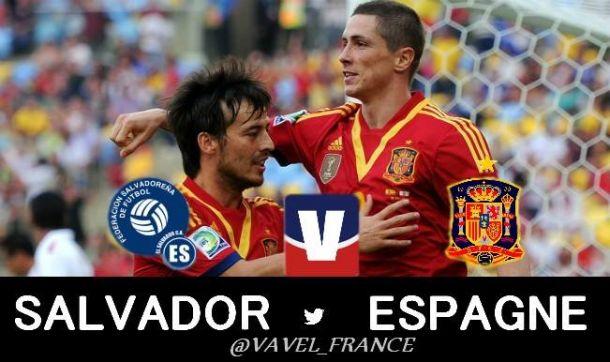 Live : Salvador - Espagne en direct