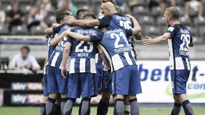 Herta Berlim bate Freiburg com gol no fim e vence primeira na Bundesliga