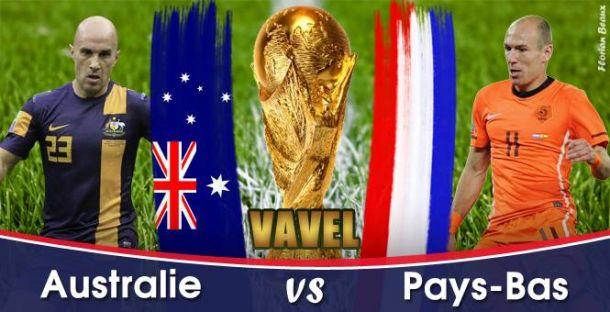 Live Coupe du Monde 2014 : Australie - Pays-Bas en direct