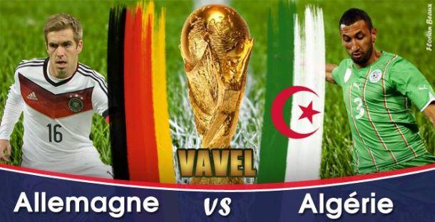Live Algérie - Allemagne en direct