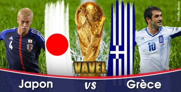 Live Japon - Grèce, la Coupe du Monde 2014 en direct