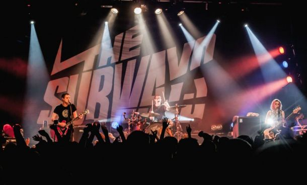 The Subways se entrega al público de Madrid